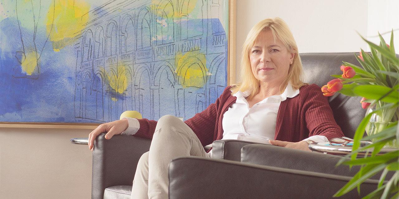 Ingrid Prassel - Fachärztin für Psychosomatische Medizin und Psychotherapie